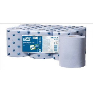 Tork Basic Paper 1 ply Blue 300m J96154