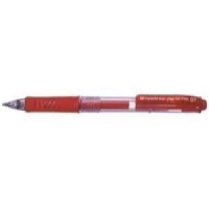 Pentel Energel X Gel Pen Red includes 2 Pens FOC BL107/14-B