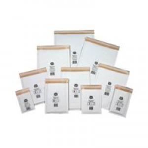 Jiffy Mailmiser White 00 Internal 115x195mm External 145x210mm