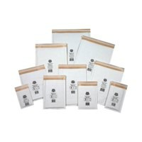 Jiffy Mailmiser Protective Envelopes Bubble-lined No.1 White 170x245mm Ref JMM-WH-1 [Pack 100]