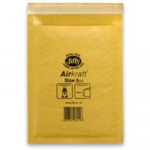 Jiffy Airkraft Bubble Bag Envelopes No.0 Gold 140x195mm Ref JLGO0 [Pack 100]