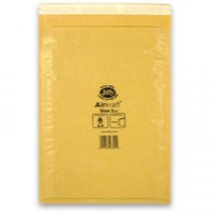 Jiffy Airkraft Bubble Bag Envelopes No.3 Gold 205x320mm Ref JL-GO-3 [Pack 50]