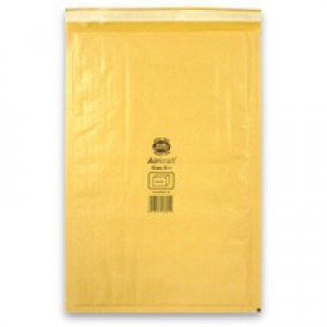 Jiffy Airkraft Bubble Bag Envelopes No.6 Gold 290x445mm Ref JL-GO-6 [Pack 50]