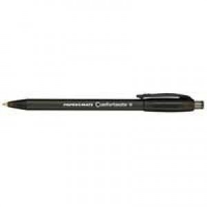 PaperMate Comfortmate Fresh Retractable Ballpoint Pen Black P2871101 S0512260