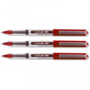 Uni-Ball UB-150 Eye Rollerball Pen Micro 0.5mm Tip 0.2mm Line Red Code 9000502
