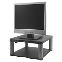 Fellowes Premium Monitor Riser for 21in Capacity 36kg 5 Heights 64-165mm Graphite Ref 9169401