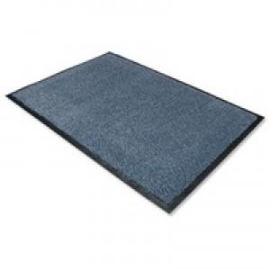 Door Mat Dust and Moisture Control Polypropylene 1200mmx1800mm Blue