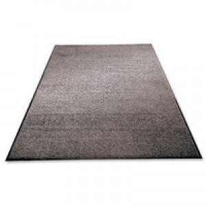 Mat on Roll Polypropylene Anti Slip Plush Pile 900x3000mm Grey