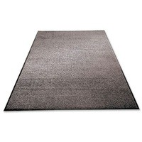 Mat on Roll Polypropylene Anti Slip Plush Pile 900x3000mm Grey