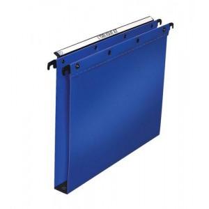 Elba Suspension File Polypropylene Vertical 350sheet 30mm Foolscap Blue Ref 100330371 [Pack 25]