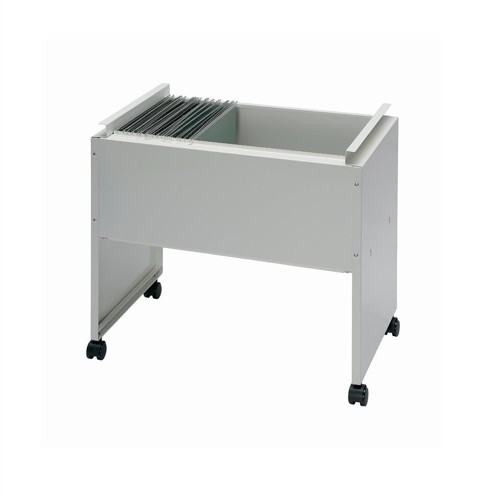Filing Trolley Steel Capacity 120 A4 or Foolscap Files Grey