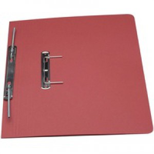 Guildhall Transfer Spring Files 315gsm Capacity 38mm Foolscap Red Ref 348-REDZ [Pack 50]