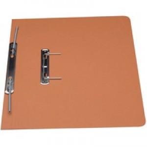 Guildhall Transfer Spring Files 315gsm Capacity 38mm Foolscap Orange Ref 348-ORGZ [Pack 50]