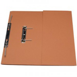 Guildhall Transfer Spring Files with Inside Pocket 315gsm 38mm Foolscap Orange Ref 349-ORGZ [Pack 25]