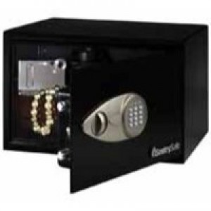 Sentry X055 Security Safe Electronic Lock 4mm Door 2mm Walls 14.9 Litre 10.4kg W350xD270xH220mm Ref X055