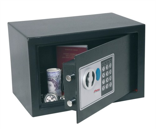Phoenix Compact Safe Home or Office Electronic Lock 8.5L Capacity 7kg W310xD200xH200mm Ref SS0722E