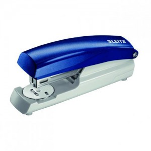 Leitz HalfStrip Stapler Blue 5500