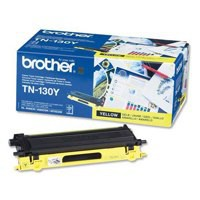 Image for Brother Laser Toner Cartridge Page Life 1500pp Yellow Ref TN130Y