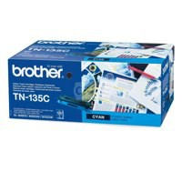 Brother Laser Toner Cartridge Page Life 4000pp Cyan Ref TN135C