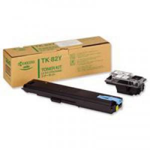 Kyocera Toner Cartridge Yellow TK82Y
