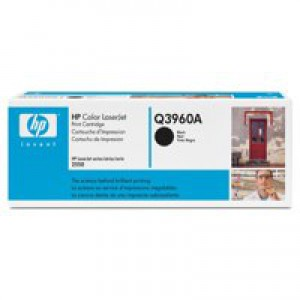 Hewlett Packard [HP] No. 122A Laser Toner Cartridge Page Life 5000pp Black Ref Q3960A