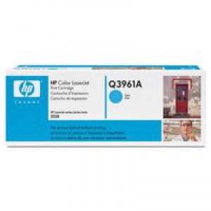 HP No.122A Laser Toner Cartridge Cyan Code Q3961A