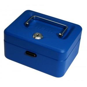 Cash Box 6in Blue