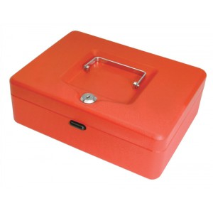 Cash Box 10in Red