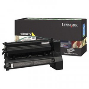Lexmark C750 Return Programme Toner Cartridge Yellow 6K Yield 10B041Y
