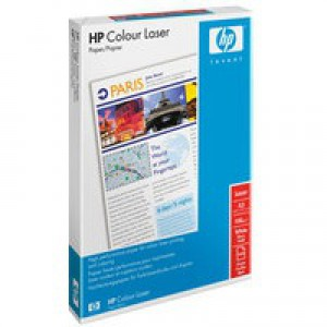 Hewlett Packard [HP] Colour Laser Paper Smooth 120gsm A3 White Ref HCL1030 [250 Sheets]