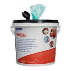 Wypall Kimtuf Hand Cleaning Wipes Bucket 90 Sheets Size 270x270mm Code 7775