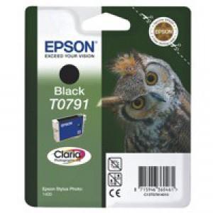Epson Owl Claria Photographic Ink Black T0791