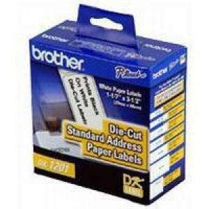 Brother QL500/550 Labelling Machine Address Labels 29x90mm Roll 400 White Code DK-11201