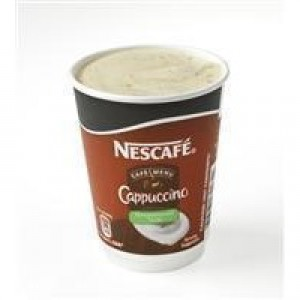 Nescafe & Go Cappuccino Foil-sealed Cup for Drinks Machine Ref 12089837 [Pack 8]