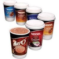 Nescafe & Go Aero Hot Chocolate Foil-sealed Cup for Drinks Machine Ref 12033789 [Pack 8]