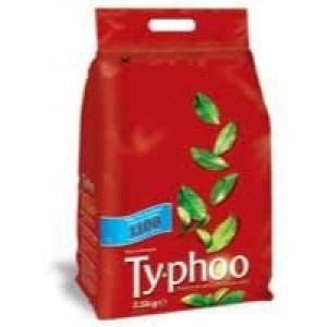 Typhoo Tea Bags Vacuum-packed 1 Cup Pack 1100 Code A00786