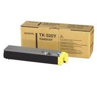 Kyocera TK-520Y Laser Toner Cartridge Page Life 4000pp Yellow Ref 1T02HJAEU0
