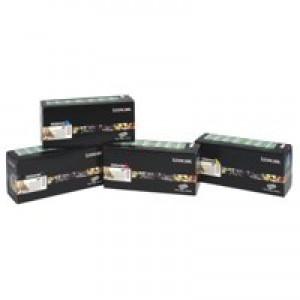 Lexmark Laser Toner Cartridge Return Program High Yield Page Life 10000pp Yellow Ref C780H1YG