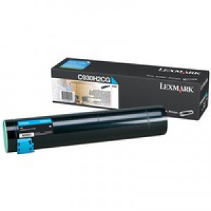 Lexmark Toner Cartridge High Yield Cyan C930H2CG