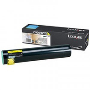 Lexmark Toner Cartridge High Yield Yellow C930H2YG