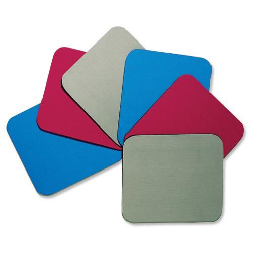 Fellowes Economy Mousepad Rubber Sponge backing and Non-slip Base Red Ref 29701