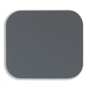 Fellowes Mousepad Solid Colour Silver Ref 58023-06