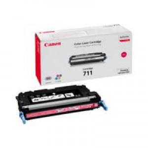 Canon 711M Laser Toner Cartridge Page Life 6000pp Magenta [for LBP-5360] Ref 1658B002