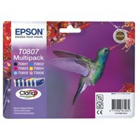 Epson Hummingbird Claria Photographic Ink Multipack 6-colours T0807