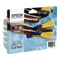 Image for Epson Inkjet Cartridge Black/Cyan/Magenta/Yellow Plus 50 Sheets Photo Paper C13T584440A0
