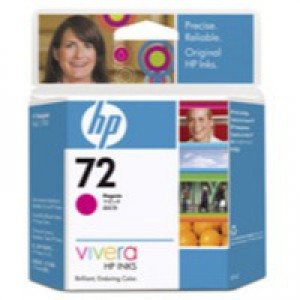 Hewlett Packard [HP] No. 72 Inkjet Cartridge 69ml Magenta Ref C9399A