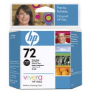 Hewlett Packard [HP] No. 72 Inkjet Cartridge 69ml Photo Black Ref C9397A