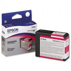 Epson T5803 Inkjet Cartridge Capacity 80ml Magenta Ref C13T580300