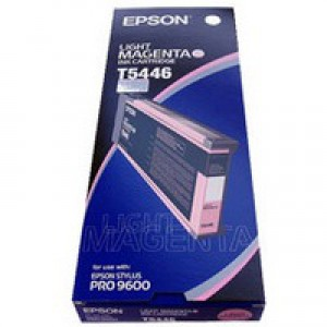 Epson T5446 Inkjet Cartridge UltraChrome Capacity 220ml Light Magenta Ref C13T544600