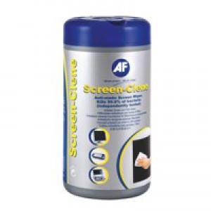 AF Screen Clene Wipes Tub of 100 ASCR100T
